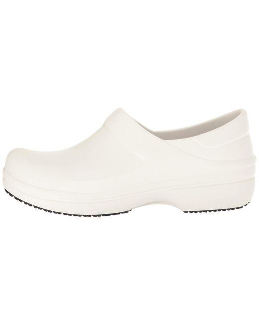 87213256ef9653 ... Crocs™ - White Neria Pro Clog - Lyst ...
