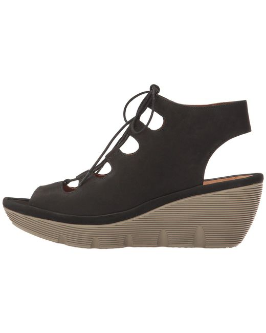 f2cce2091eb7 Lyst - Clarks Clarene Grace in Black - Save 49%