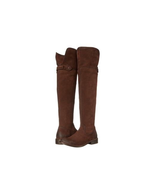 Frye - Brown Shirley Over-the-knee Riding - Lyst