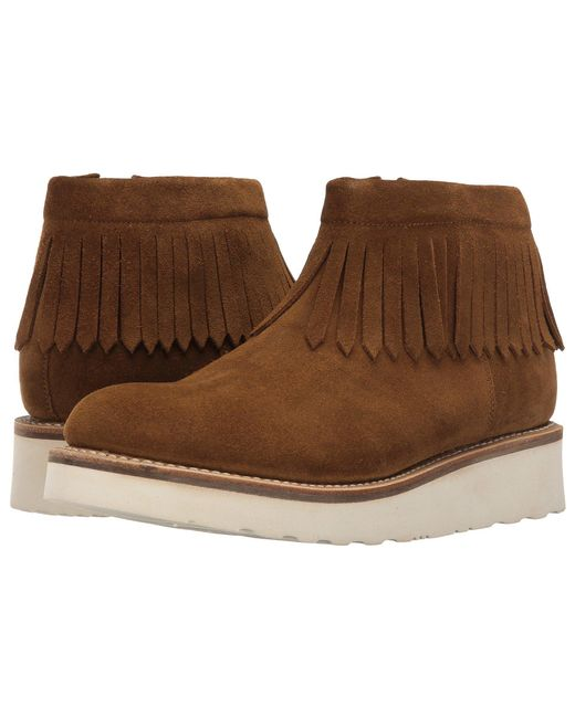 GRENSON | Brown Trixie Moccasin | Lyst