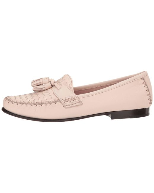 c62b3caf2cf Lyst - Cole Haan Jagger Soft Weave Loafer in Pink - Save 37%