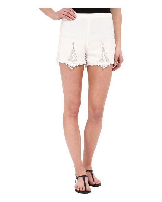 Volcom | White Sparks Fly Shorts | Lyst