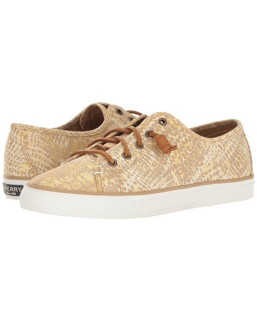 Sperry Top-Sider - Metallic Seacoast Python - Lyst
