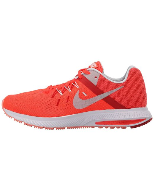timeless design 5bc41 9f548 hot nike red zoom winflo 2 lyst 7e5f8 61f4a