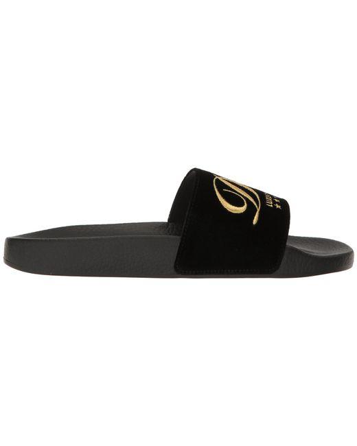 Rubberized Leather DG Pool Slide Dolce & Gabbana mfO3PFh