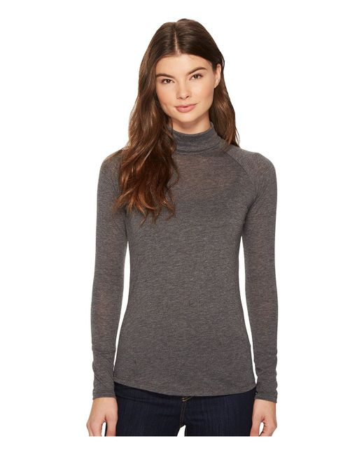 Alternative Apparel - Gray Eco-gauze Debut Turtleneck - Lyst