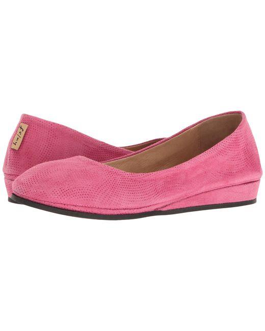 French Sole - Pink Zeppa Flat - Lyst