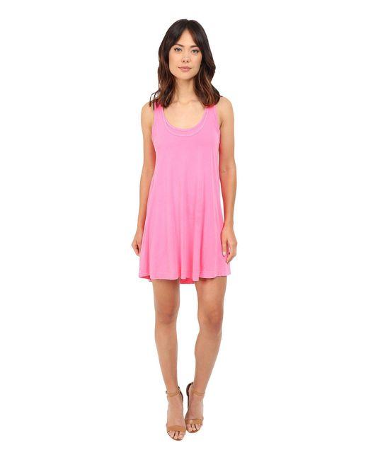 Splendid - Pink Vintage Whisper Dress - Lyst
