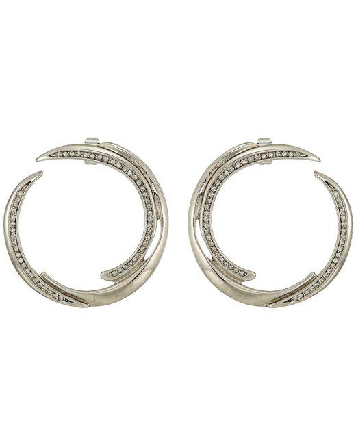 House of Harlow 1960 - Metallic Wave Statement Earrings - Lyst