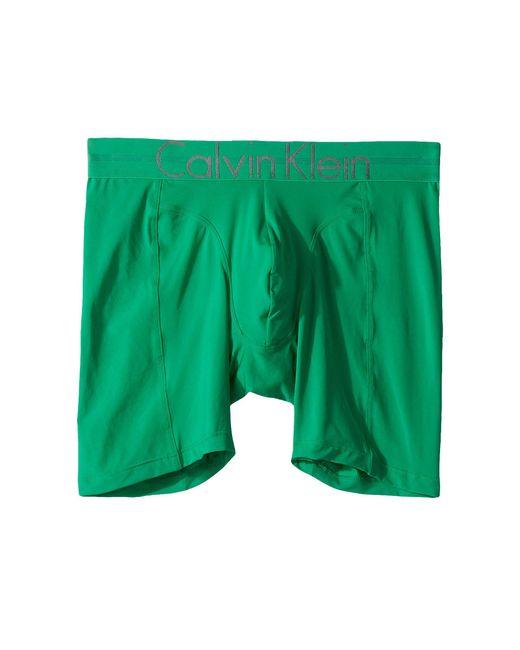 Calvin Klein - Green Underwear Focused Fit Boxer Briefs for Men - Lyst
