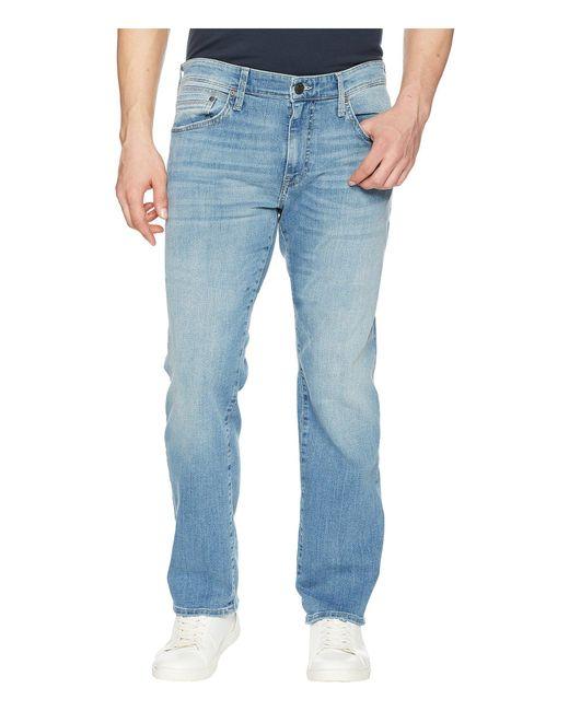 3418f87d8df6f Mavi Jeans - Zach Regular Rise Straight Leg In Light Blue Williamsburg for  Men - Lyst ...