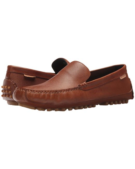 Cole Haan - Brown Coburn Venetian Driver Ii for Men - Lyst