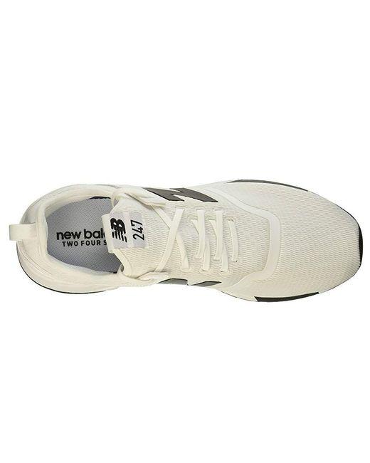 New Balance Mrl247dv1 (whiteblack) Shoes in White for Men