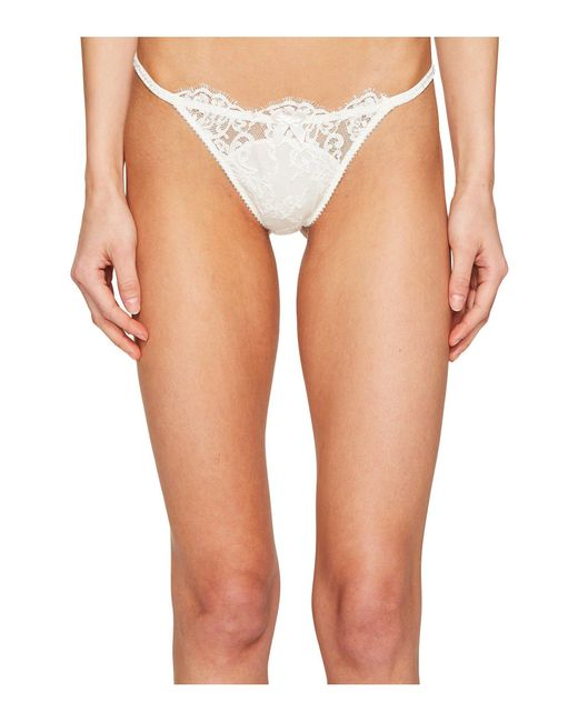 L'Agent by Agent Provocateur - White Amalea Tanga Brief - Lyst