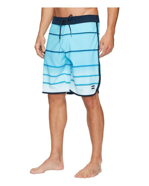 7b3ce00365 Lyst - Billabong 73 X Stripe Boardshorts in Blue for Men - Save 75.0%