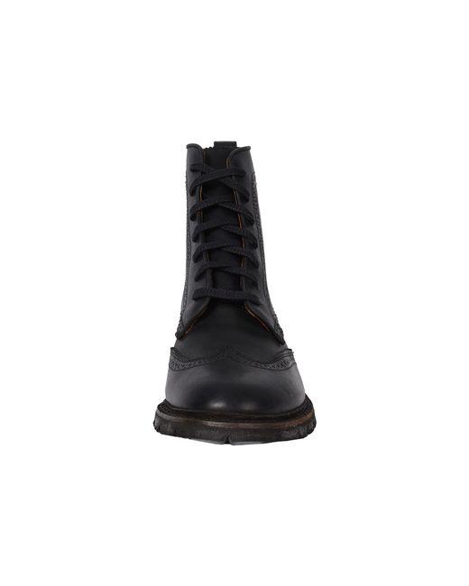 Frye   Black James Lug Wingtip Boot for Men   Lyst