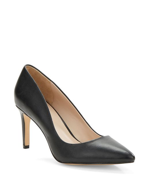 Charles by Charles David | Black Lesslie Leather Pumps | Lyst