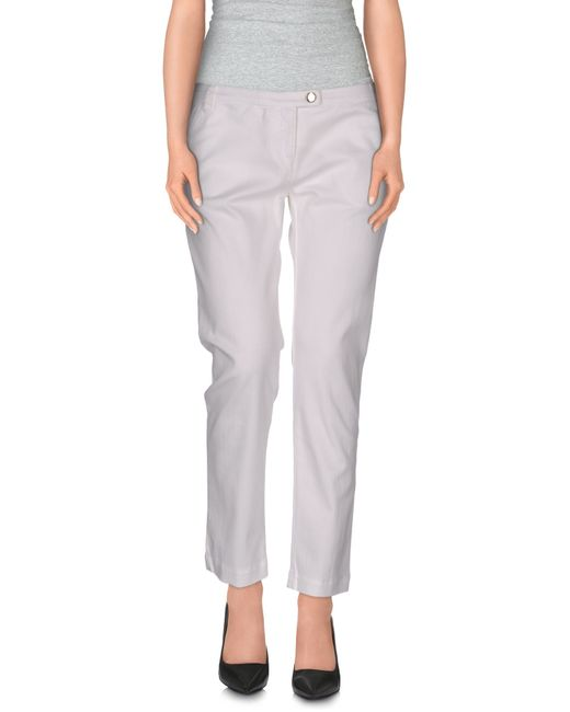 Armani Jeans   White Casual Pants   Lyst