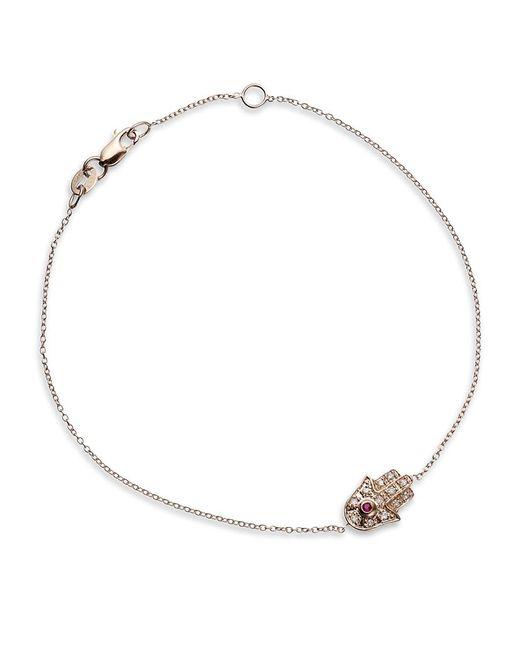 Sydney Evan | Metallic Hamsa Bracelet | Lyst