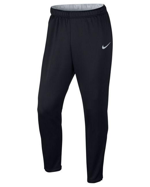 nike men 39 s academy slim fit performance joggers in black. Black Bedroom Furniture Sets. Home Design Ideas