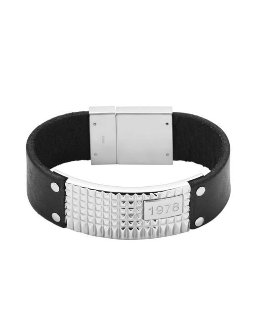 DIESEL | Black Bracelet Dx0828 for Men | Lyst