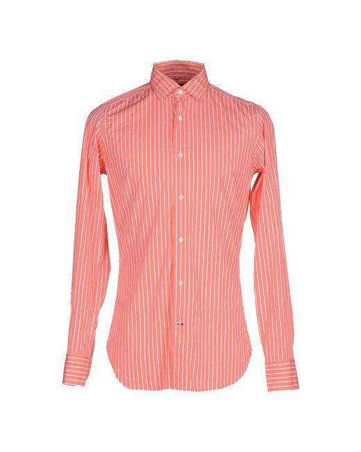 Truzzi | Pink Shirt for Men | Lyst