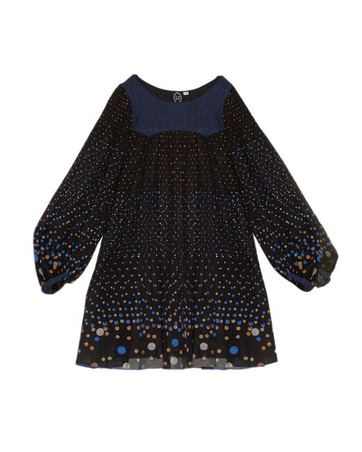 Thierry Colson | Blue Poppy Polka-Dot Dress | Lyst