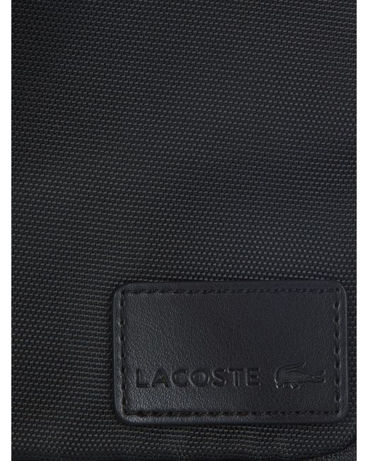 Lacoste | Black Medium Messenger Bag for Men | Lyst