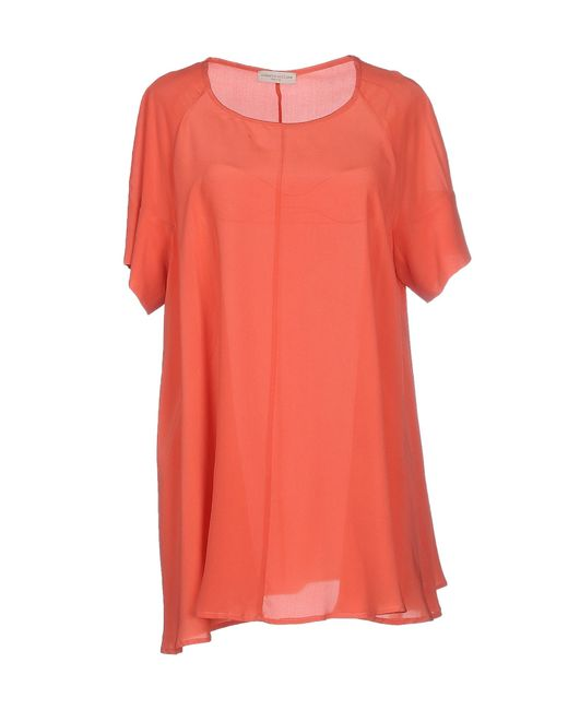 Roberto Collina | Pink Blouse | Lyst