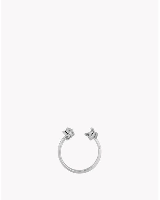 DSquared² | Metallic Mini Babe Wire Ring | Lyst