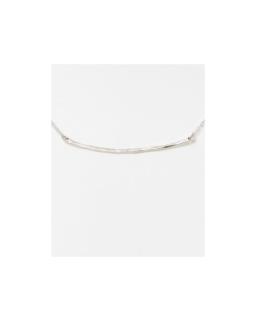 Gorjana | Metallic Small Taner Bar Necklace, 16.75"