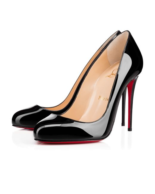 christian louboutin dorissima patent leather pumps