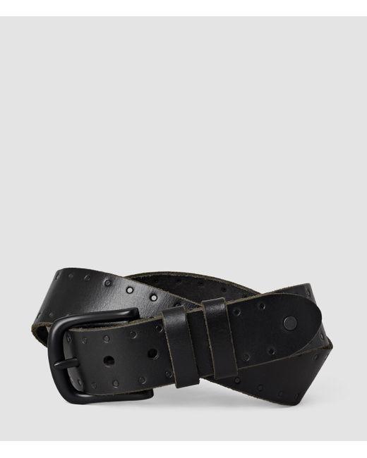AllSaints | Black Trap Belt for Men | Lyst