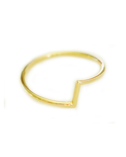 Cloverpost | Yellow Cones Connect Ring | Lyst