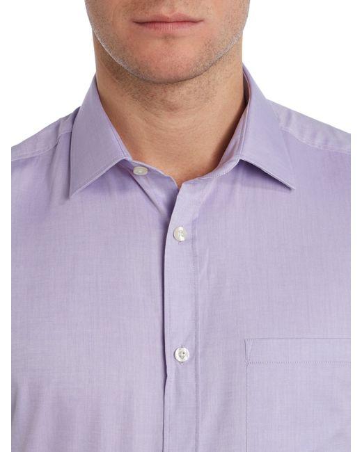Howick | Purple Bannon Short Sleeve Shirt for Men | Lyst