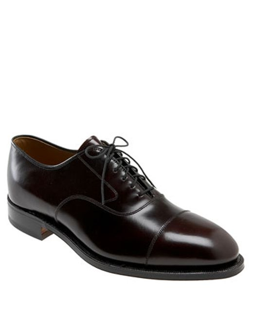 Johnston & Murphy | Black 'melton' Oxford for Men | Lyst