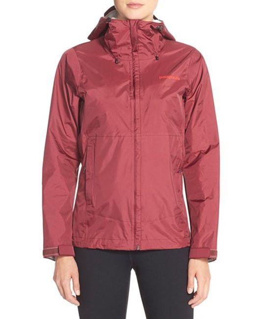 Patagonia   Red 'torrentshell' Waterproof Jacket   Lyst