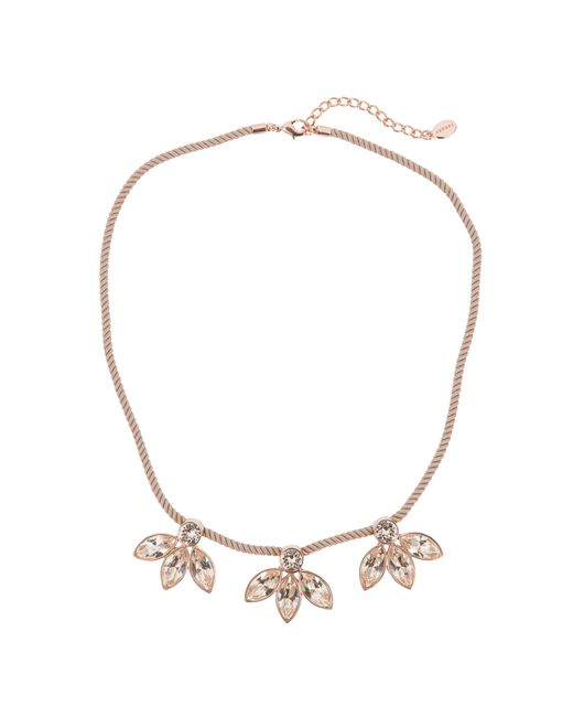 Aurora | Pink Petal Necklace | Lyst