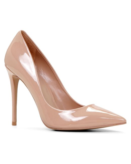 ALDO | Pink Stressy High Heel Courts With Pointy Toe | Lyst