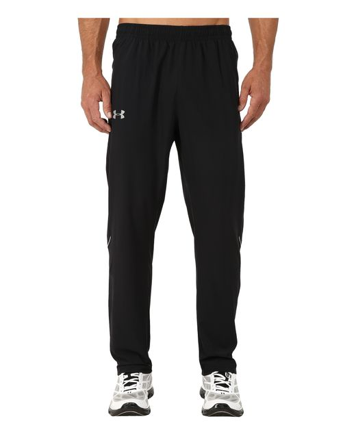 Under Armour | Black Ua Launch Stretch Woven Pant for Men | Lyst