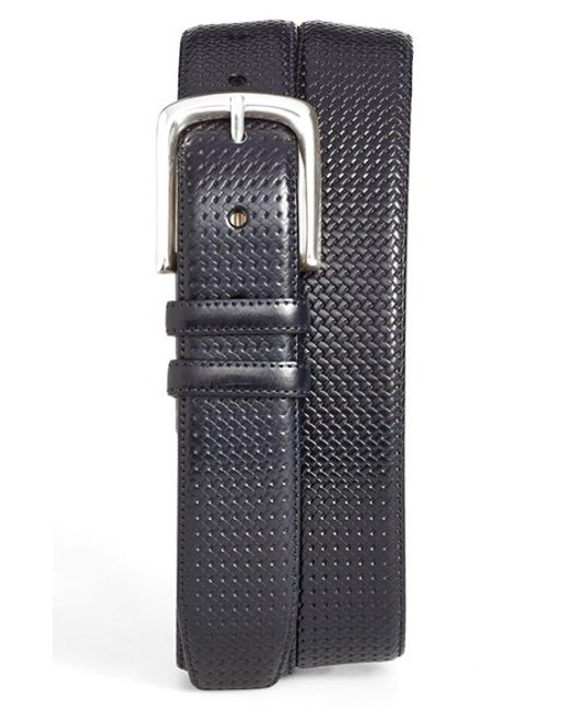 Mezlan | Blue 'diver' Leather Belt for Men | Lyst