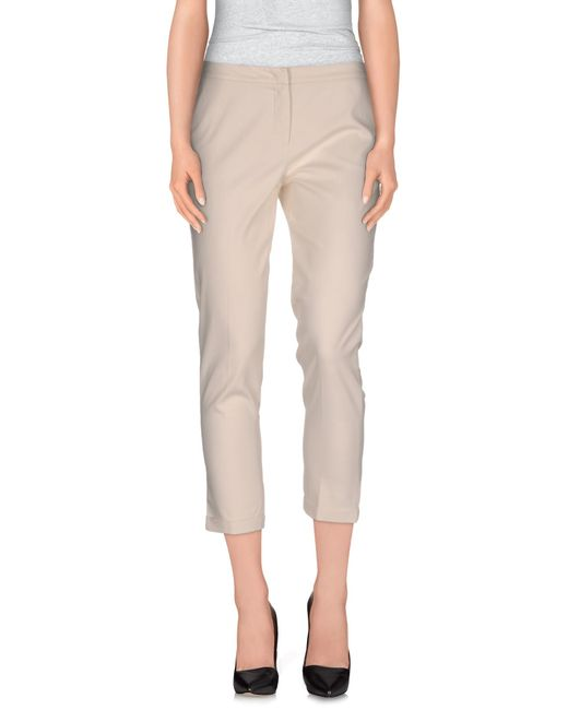 Sfizio | Natural Casual Pants | Lyst