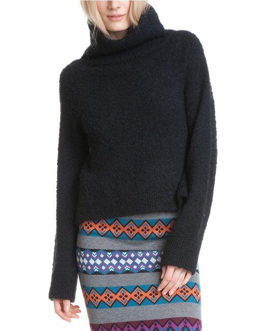 Plenty by Tracy Reese | Black Slouchy Turtleneck Sweater | Lyst