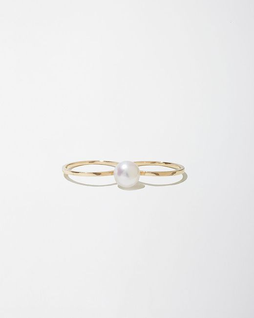 Sophie Bille Brahe | Metallic Double De Perle Ring | Lyst