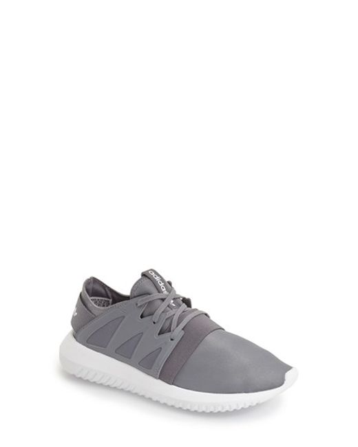 Adidas originals Tubular Viral Sneakers in Gray GREY/ WHITE  Lyst