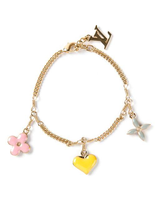Louis Vuitton | Pink Lv & Me Bracelet, Letter K | Lyst