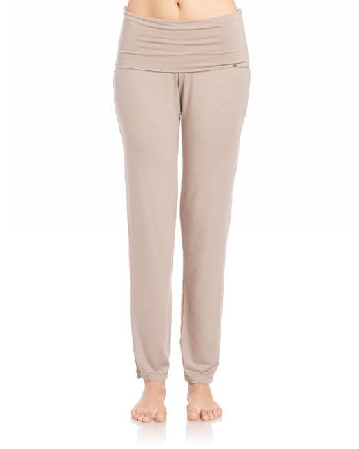 Hanro | Brown Yoga Lounge Pants | Lyst