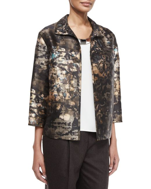 Lafayette 148 New York | Multicolor Maris Essex Jacquard Jacket | Lyst