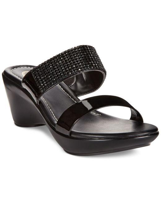 Callisto | Black Jezzie Sandals | Lyst