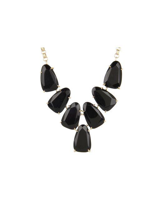 Kendra Scott | Black Harlow Necklace | Lyst